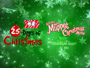 Disney XD Toons 25 Days Of Christmas It's A Very Merry Muppet Christmas Movie Promo (2018)