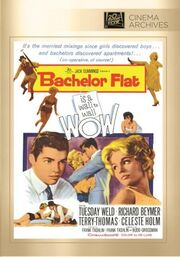 1961 - Bachelor Flat DVD Cover (2014 Fox Cinema Archives)