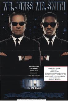 Men In Black (1997) Teaser Poster