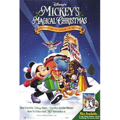 filemickeys magical christmas posterjpg - Mickey Magical Christmas