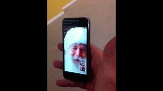 Santa's Video Chat with Carson