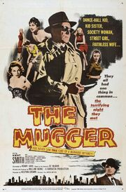 1958 - The Mugger Movie Poster