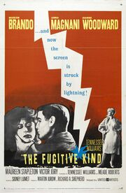 1959 - The Fugitive Kind Movie Poster