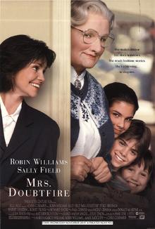 Mrs Doubtfire (1993) Poster