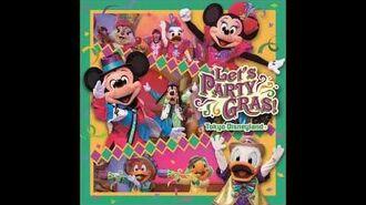 【TDL】【CD音源】レッツパーティグラ! Let's PARTY GRAS! リゾート先行販売