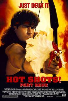 1993 - Hot Shots Part Deux Movie Poster