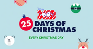 Disney XD Toons 25 Days of Christmas Every Christmas Day Promo 2019