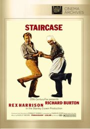 1969 - Staircase DVD Cover (2013 Fox Cinema Archives)