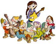 Alena and the Seven dwarfs
