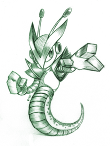 Serpentine sketch by r no71 by darkerstrife-d55muvb