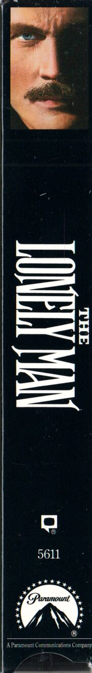 The Lonely Man 1993 VHS (Spine Cover)