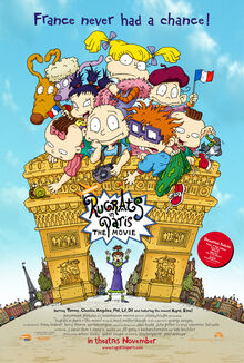 Rugrats In Paris The Movie 2000 Theatrical Poster