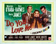 1946 - Do You Love Me lobby card