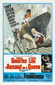1966 - Assault on a Queen Movie Poster