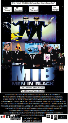 Men In Black The Ohana Syndrome (2017) Theatrical Poster 2