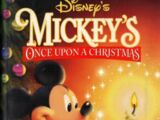 Opening to Mickey's Once Upon a Christmas 1999 Theater (Regal Cinemas)