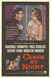 1952 - Clash By Night Movie Poster