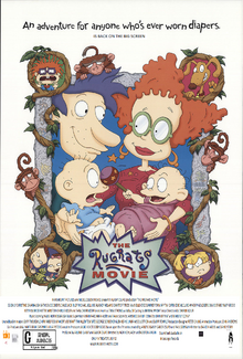 The Rugrats Movie 2018 Re-Release Poster