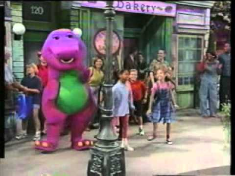 ending of the program walk around the block with barney preview - The Night Before Christmas Trailer