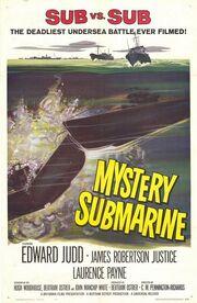 1963 - Mystery Submarine Movie Poster