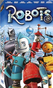 Robots 2005 VHS