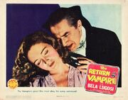 1943 - The Return of the Vampire Movie Poster