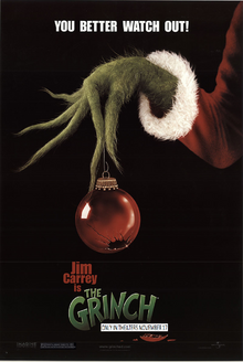 How The Grinch Stole Christmas (2000) Poster