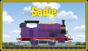 Sadie, another new railroad engine character