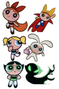 Blossom, Bubbles, Buttercup and their alter egos (September 27, 2000)