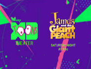 Disney XD Toons Theater James And The Giant Peach Promo 2017