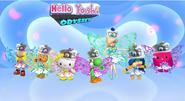 Hello Yoshi Odyssix magical girl