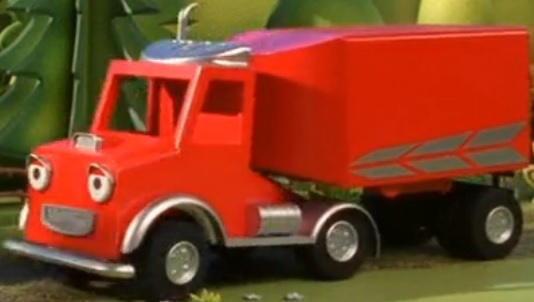 Packer the Red delivery lorry