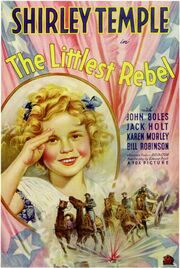 1935 - The Littlest Rebel Movie Poster