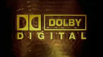 Dolby Digital Surround EX Rain logo (1998-present)
