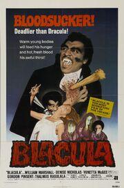 1972 - Blacula Movie Poster