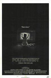 1982 - Poltergeist Movie Poster