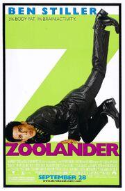 2001 - Zoolander Movie Poster