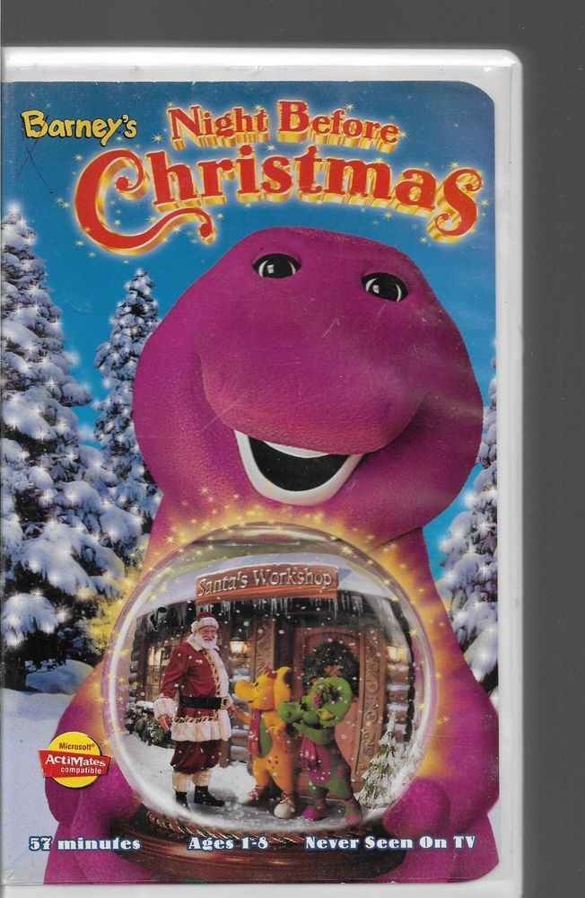 Opening To Barney\'s Night Before Christmas 1998 VHS (Fan-Made ...