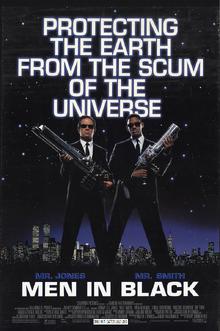 Men In Black (1997) Poster