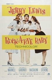 1958 - Rock-A-Bye Baby Movie Poster