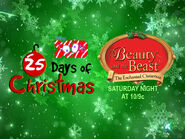 Disney XD Toons 25 Days Of Christmas Beauty And The Beast The Enchanted Christmas Promo 2018