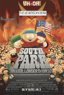 South Park Bigger Longer And Uncut (1999) Poster