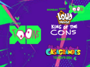 Disney XD Toons The Loud House King Of The Cons Right After The Casagrandes Monday Promo 2019 UK