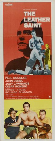 1956 - The Leather Saint Movie Poster