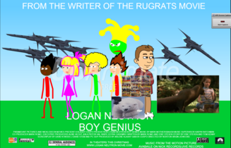 Logan Neutron Boy Genius (2001) Theatrical Poster