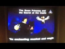 The Swan Princess and the Secret of the Castle Australian VHS Preview