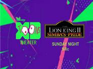 Disney XD Toons Theater The Lion King II Simba's Pride Promo 2017
