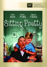 1948 - Sitting Pretty DVD Cover (2013 Fox Cinema Archives)