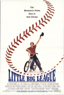 Little Big League (1994) Theatrical Poster