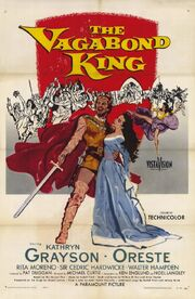 1956 - The Vagabond King Movie Poster